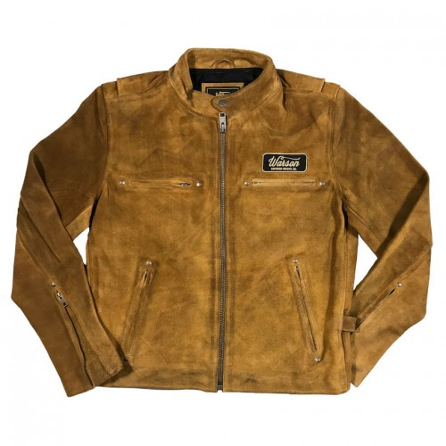Easy Rider Jacket Tan Goat Suede Leather