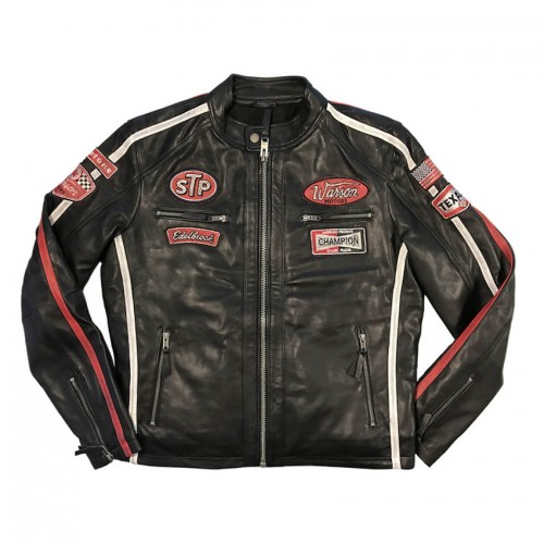 Daytona Leather Jacket Black