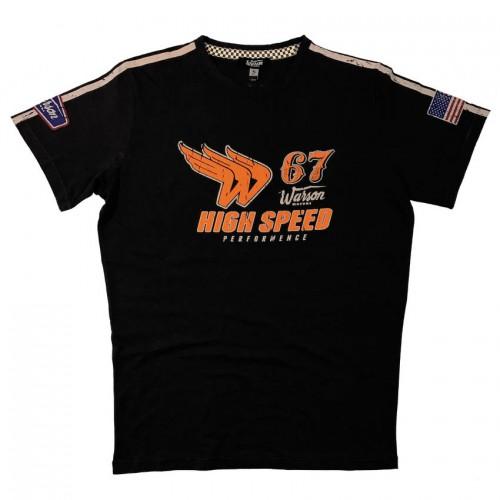 T-Shirt High Speed 67 Carbone