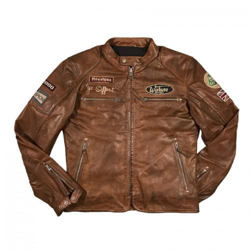 Classic Driver Jo Siffert Tan-Dark Jacket