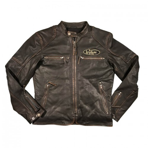 Classic Driver Brown Rub Off Jacket