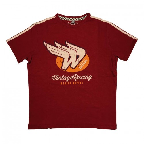 T-Shirt Vintage Racing Red