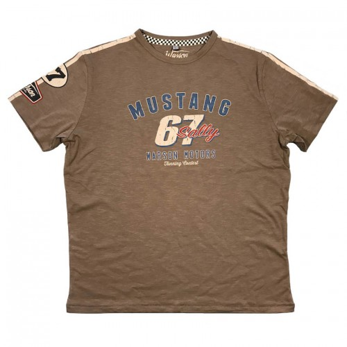 T-Shirt Mustang 67 Brown