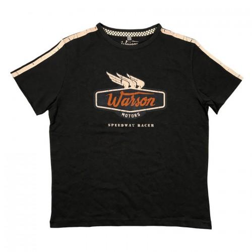 T-Shirt Speedway Racer Carbone