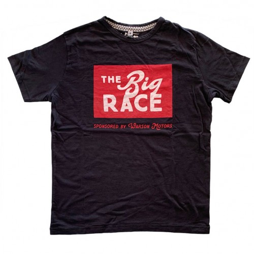 T-shirt The Big Race black