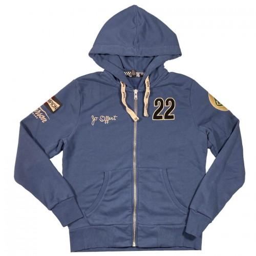 Hoodie Jo Siffert Brands Hatch Blue