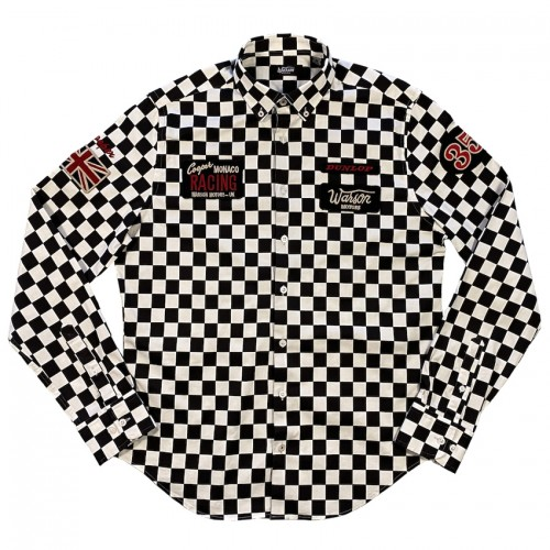 Shirt Cooper Monaco checkered by Warson Motors