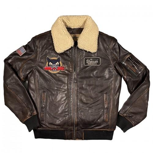 US Navi Tomcat leather jacket