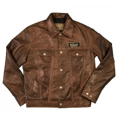 Western Button Jacket Sheep Brown