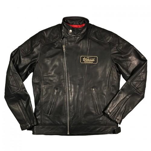 Classic Biker Jacket Cow Black