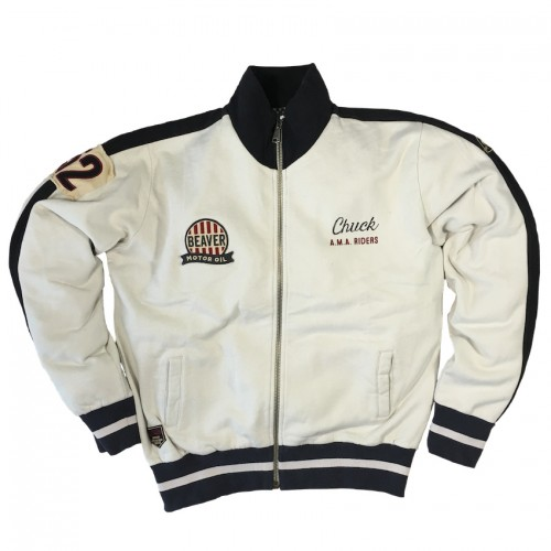Dare Devils Track Jacket Smoke White Men