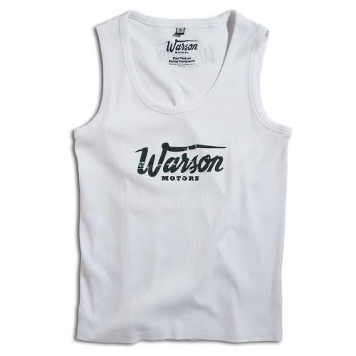 Monza White - Tank top - Warson Motors