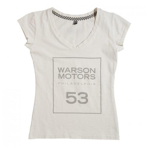 Square 53 Light Gold - T-shirt - Women - Warson Motors