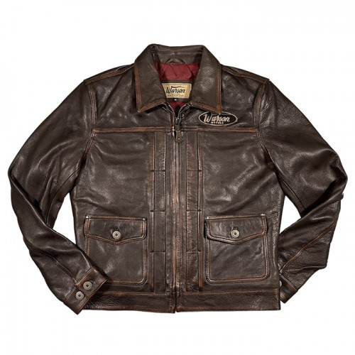 Deville leather jacket