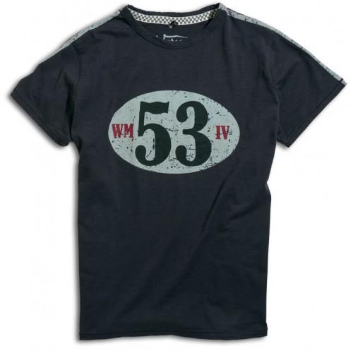 T-shirt Birdcage Carbon