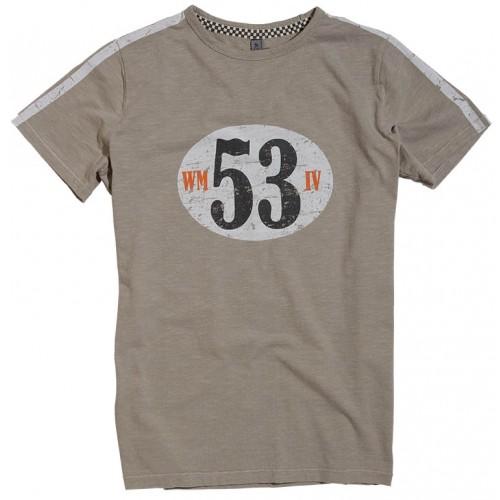 T-shirt Warson Motors - Birdcage Grey