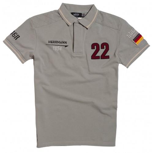 Polo Herrmann Grey