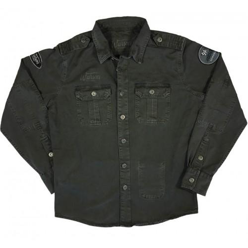 Shirt Military Carbone