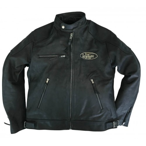 Motorcycle Leather Black Men