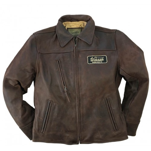 Speed Fire Leather Brown Men