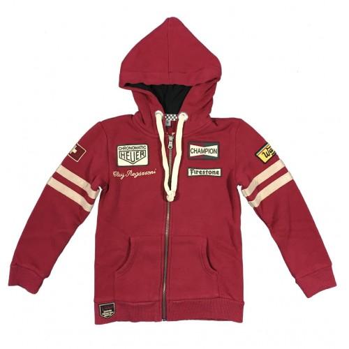 Regazzoni Hoodie Dark Red Kids