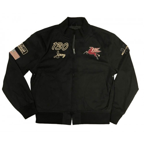Little Bastard Jacket Black