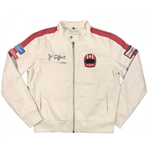 Light Driver Jo Siffert Jacket Ecru